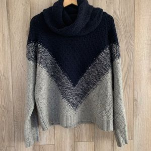 Autumn Cashmere Chunky Cashmere Blend Cowl Sweater